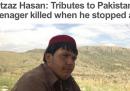 Il ragazzino morto per fermare un kamikaze in Pakistan