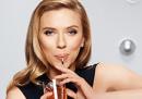 Scarlett Johansson, Israele e le bibite