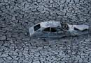 Le foto della siccità in California