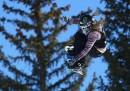 Slopestyle con lo snowboard - maschile e femminile