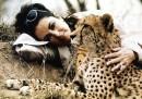 Liz Taylor e ghepardo