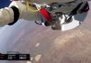 Il nuovo video del volo di Baumgartner