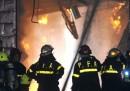 L'incendio in un archivio di Buenos Aires