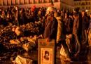 Gli scontri di Kiev