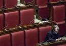 Brunetta, Berlusconi, sguardi e mani