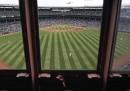 La festa dei 100 anni di Wrigley Field, a Chicago