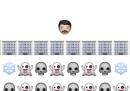 Riepilogo di Game of Thrones con gli emoticon