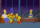 I Simpson da Letterman