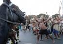 Le proteste degli indigeni contro i Mondiali