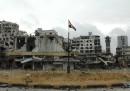 L'evacuazione della Città Vecchia, a Homs