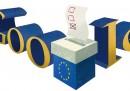 Elezioni Europee 2014, Google ha fatto un doodle