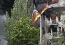 Gli scontri a Mariupol, in Ucraina orientale