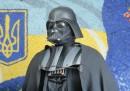 Darth Vader, candidato sindaco a Odessa e Kiev
