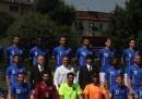 La foto di gruppo della Nazionale per i Mondiali