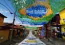 Le strade dipinte del Brasile