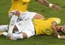 L'infortunio di Neymar