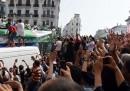 Il trionfale rientro della nazionale algerina