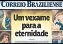 Le prime pagine internazionali sulla sconfitta del Brasile