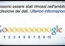"""Google e i primi effetti del """"diritto all'oblio"""""""
