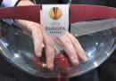 Il sorteggio dei gironi di Europa League