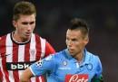 Athletic Bilbao-Napoli, stasera il ritorno