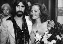 Il matrionio di Faye Dunaway e Peter Wolf