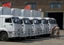 Gli aiuti russi alla frontiera ucraina