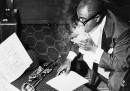 Lo studio di Louis Armstrong