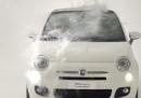 L'Ice Bucket Challenge della FIAT 500