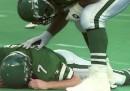 Quasi un ex giocatore di football su tre avrà problemi neurologici