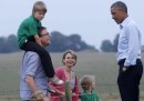 Gli incontri di Obama a Stonehenge