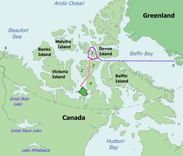 Franklin_Last_Expedition_Map