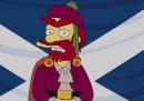 Cosa pensa Willie dei Simpson del referendum sull'indipendenza della Scozia