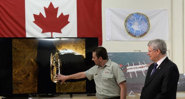 Canada-Arctic Ship Found