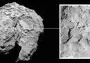 Dove atterriamo sulla cometa