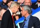 La spinta di Arsène Wenger a José Mourinho