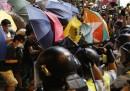 I manifestanti hanno rioccupato Mong Kok