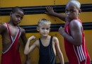 Piccoli lottatori cubani