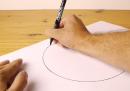 Come disegnare un cerchio perfetto a mano libera