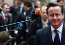Cameron sta litigando con l'Unione Europea