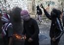 Gli scontri a Gerusalemme