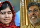 Malala Yousafzai e Kailash Satyarthi hanno vinto il Nobel per la Pace
