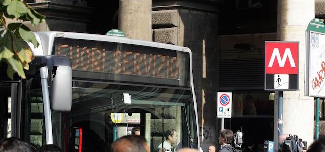 sciopero treni mezzi pubblici