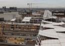 I cantieri di Expo 2015 visti dall'alto
