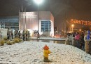 Nevica a Ferguson
