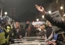 Gli scontri a Londra alla manifestazione di Anonymous