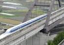 Il nuovo treno superveloce in Giappone