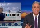 Jon Stewart contro i fratelli Koch