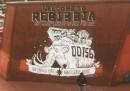 Il murale di Zerocalcare a Rebibbia