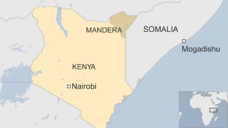 Kenya mappa